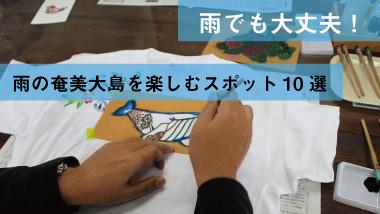 雨の奄美大島を楽しむ!スポット&アクティビティ10選